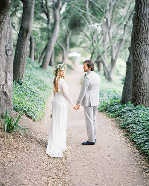 An Eclectic, Outdoor Wedding in the Escondido Mountains