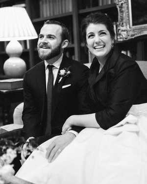 Jane and Ryan's Cozy Winter Wedding in Alabama