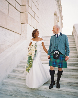 A Detroit Art Museum Wedding with Scottish and Samoan Influence