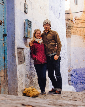 Kelly and Patrick's Honeymoon Excursion to Morocco