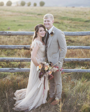 Sara and Matthew's Utterly Romantic Utah Wedding