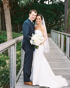 A Rainy, Rustic-Chic Wedding in South Carolina