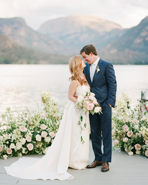 An Elegant Colorado Wedding with Nautical Details