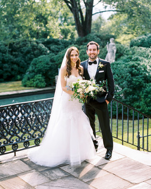 Jackie and Ross's Elegant Nashville Wedding With a Surprise Ending