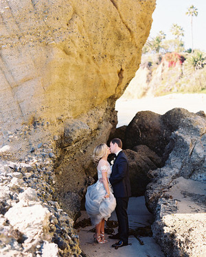 A Chic, Modern Southern California Wedding