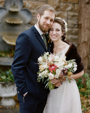 Sidney and Dane's Vintage-Inspired Kentucky Wedding