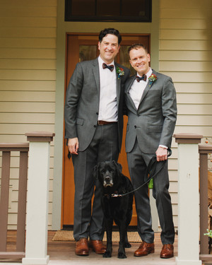 Craig and Andrew's Handsome Washington Wedding