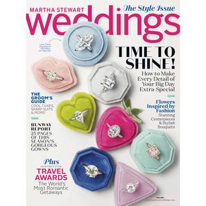fall 2017 martha stewart weddings cover