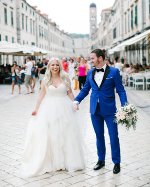 A Modern Seaside Croatian Wedding