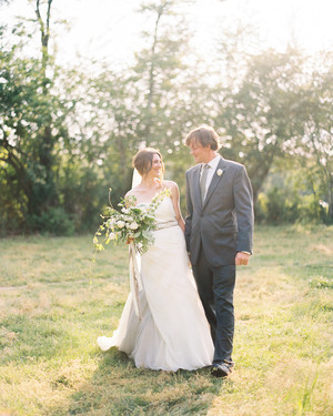 Saron and Neal's Rustic Cattle Farm Wedding