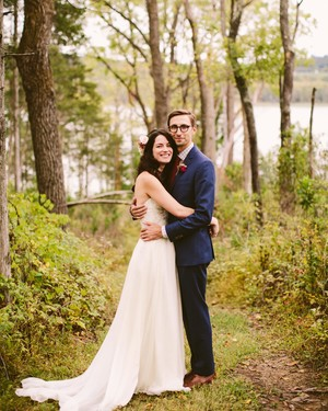 An Eclectic, Vintage-Inspired Wedding in the Catskills