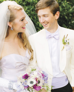 Katelyn and Austin's Lavender Wedding Celebration