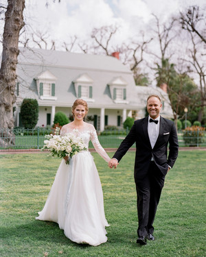 A Light Blue, Jane Austen-Inspired Wedding in California