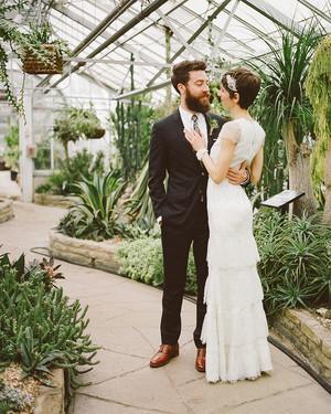 Trish and Alan's Greek-Canadian Schoolhouse Wedding