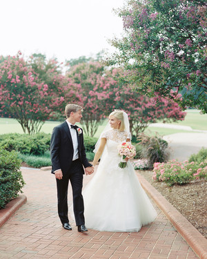 Molly and Patrick's Sweet North Carolina Church Wedding