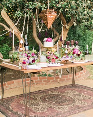 You'll Want to Pin Every Detail of This Boho-Chic Bachelorette Party