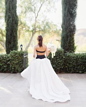 12 Brides Who Wore Wedding-Worthy Ponytails