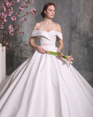 28 Two-Piece Wedding Dresses