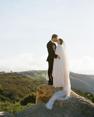 A Mountaintop Elopement in Laguna Beach, California