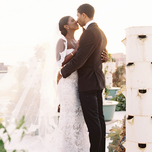 lindsey william wedding dc rooftop couple
