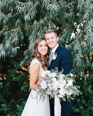 A Romantic Backyard Wedding in Salt Lake City