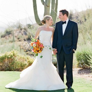 addie alex wedding couple cactus