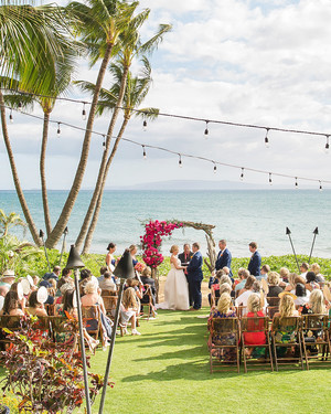 A Tropical, Colorful Wedding in Maui