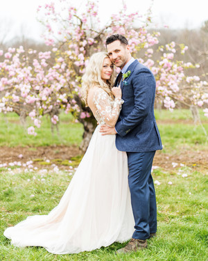 A Rustic Wedding at a Connecticut Orchard
