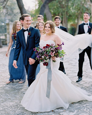 A Gem-Toned Texas Wedding with French Touches
