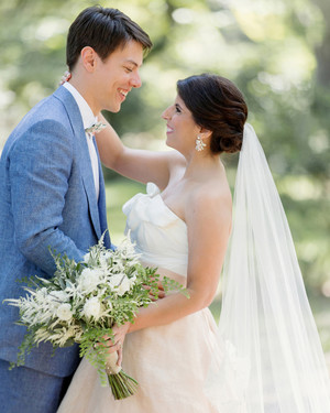 CJ and Adrien's French-Influenced Southern Wedding
