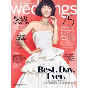 martha stewart weddings spring 2017 cover