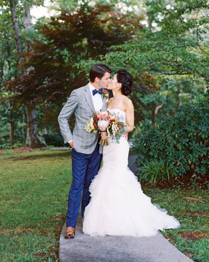 Michelle and John's Outdoor Wedding at a Cattle Ranch in North Carolina