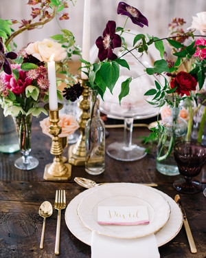 Trending Now: Cluster Wedding Centerpieces