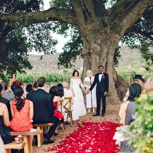 hana olu wedding california ceremony