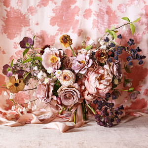 nicolette owen romantic floral arrangement