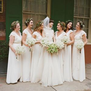 haylie bradley wedding louisiana bridesmaids