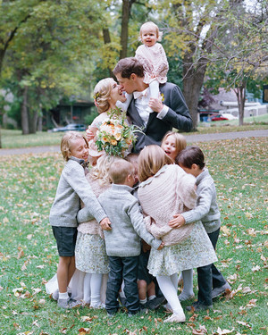 It Was a Family Affair at This Romantic Minnesota Wedding