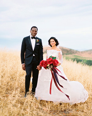 A Fruit-Filled, Floral California Wedding