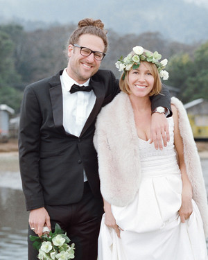 Alison and Markus's Intimate Rainy-Day California Wedding
