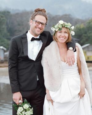 Alison and Markus's Intimate Rainy-Day California Wedding