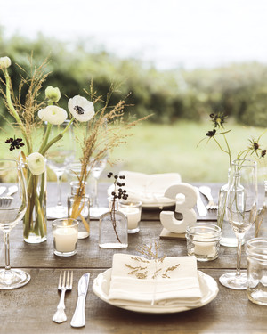 65 White Wedding Centerpieces