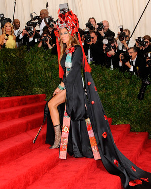 26 Times Sarah Jessica Parker Wore Her Own Shoes on the Red Carpet