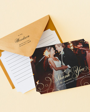 How To Write A Gracious Bridal Shower Thank You Card