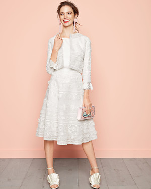 Little White Looks for Every Wedding Event