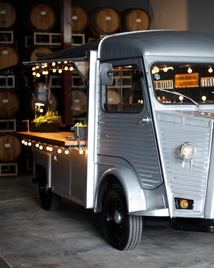 Mobile bars that can roll right up to your party martha for Bar 96 food truck