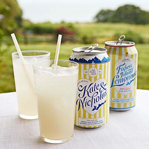 custom lemonade cans