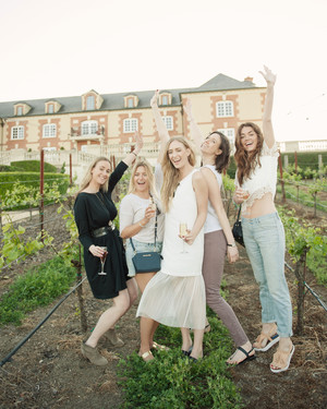 A Wine-Tasting Bachelorette Weekend in Napa for Eat.Sleep.Wear's Kimberly Pesch