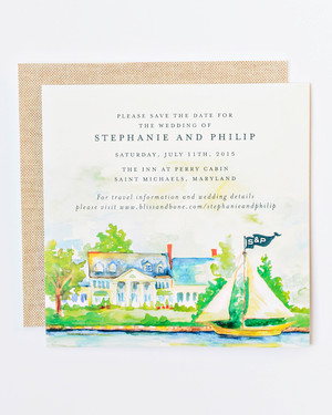 Beach Wedding Invitations That Set the Mood for a Seaside Soirée