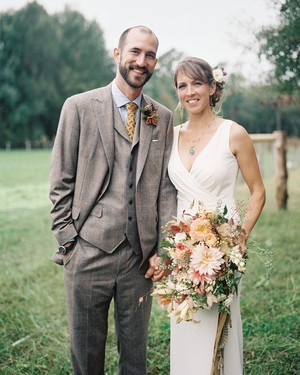 An Elegant-Meets-Rustic Farm Wedding in North Carolina