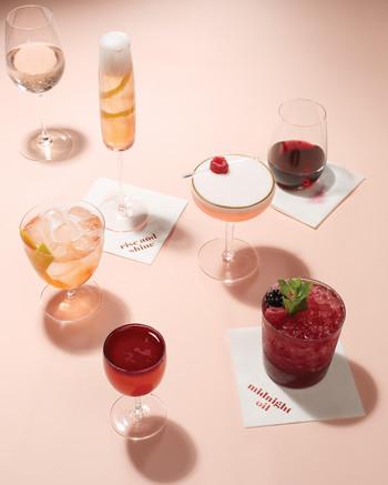 blush berry cocktails